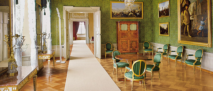 Picture: New Residence in Bamberg, first antechamber of the Imperial Apartment